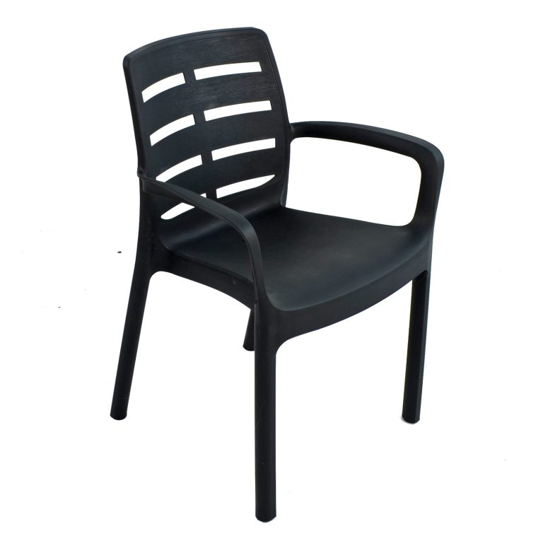 SIENA CHAIR ANTHRACITE FRONT RIGHT