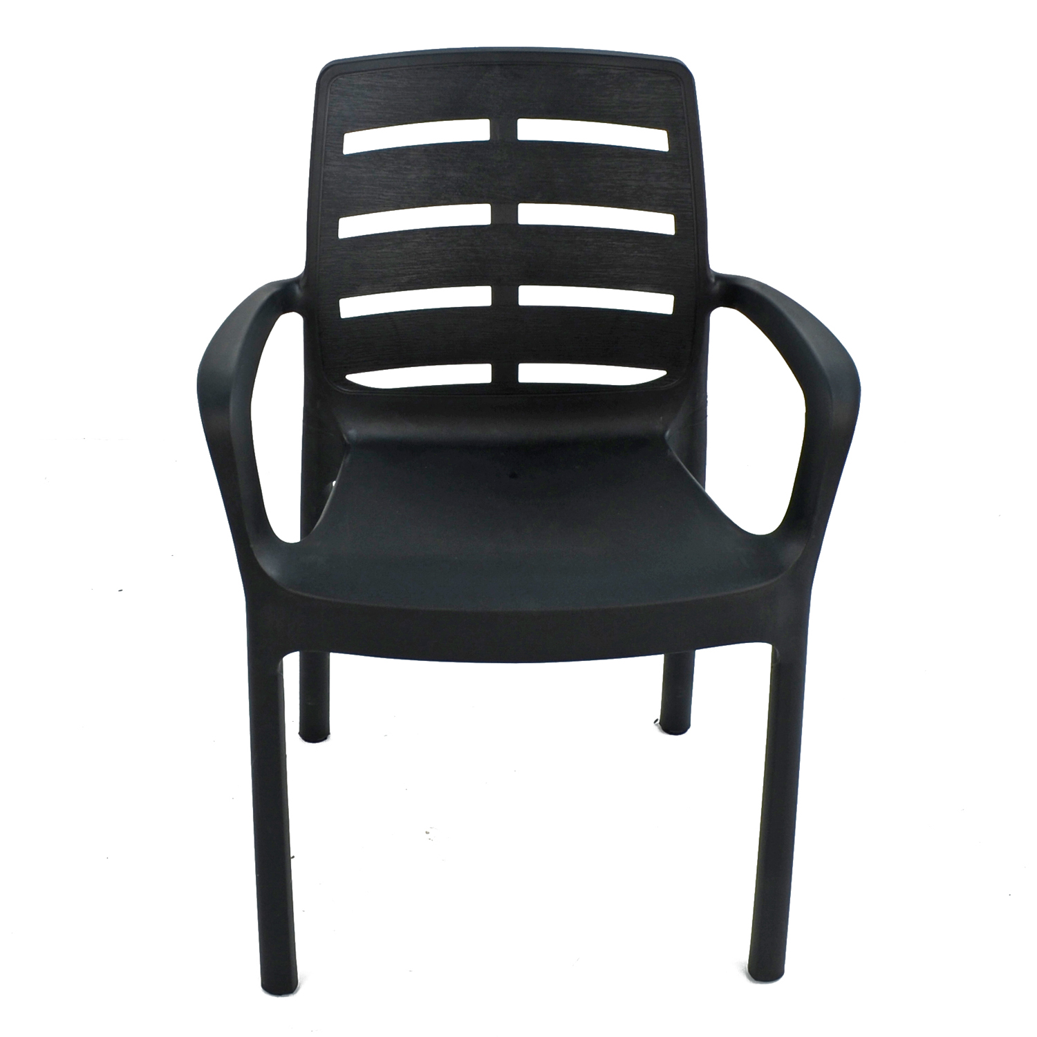 SIENA CHAIR ANTHRACITE FRONT