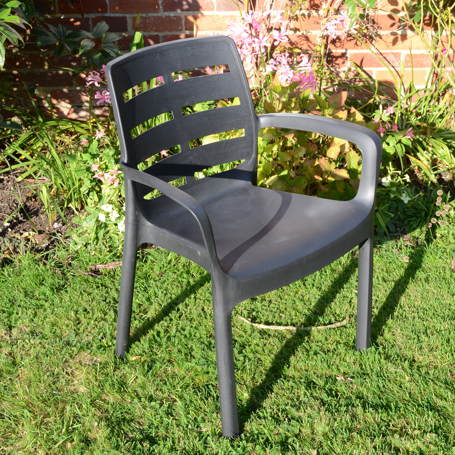 SIENA CHAIR ANTHRACITE OUTDOOR