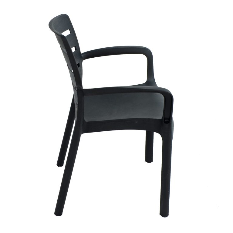 SIENA CHAIR ANTHRACITE RIGHT