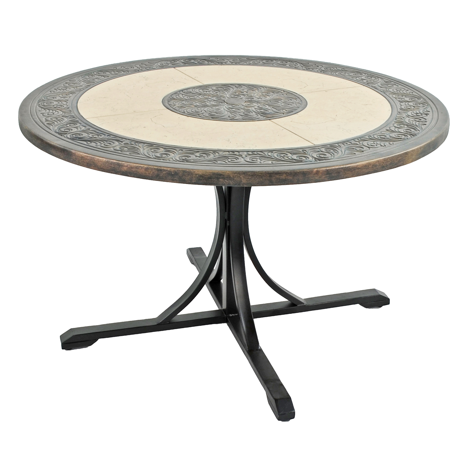 ST MALO 122CM DINING TABLE PROFILE