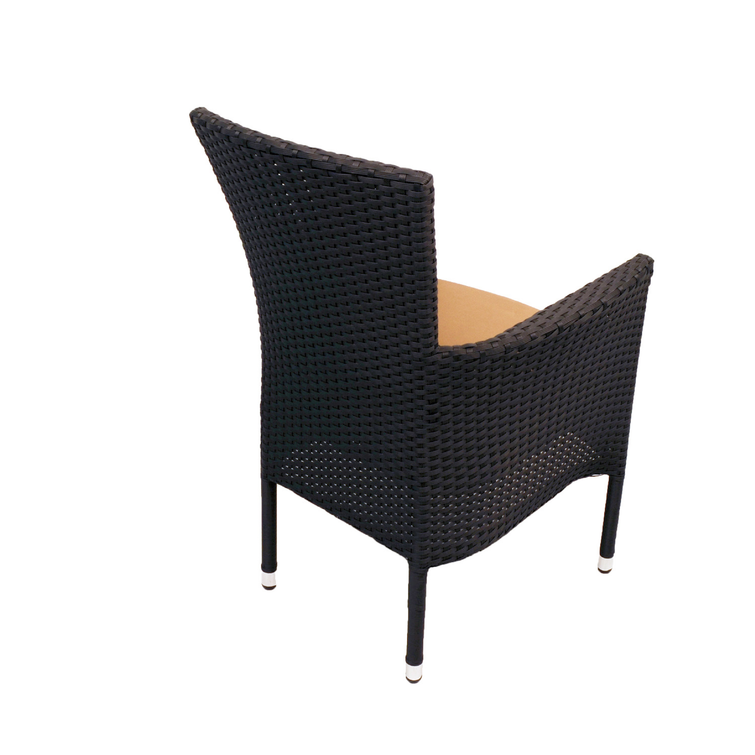 STOCKHOLM CHAIR BLACK BACK RIGHT