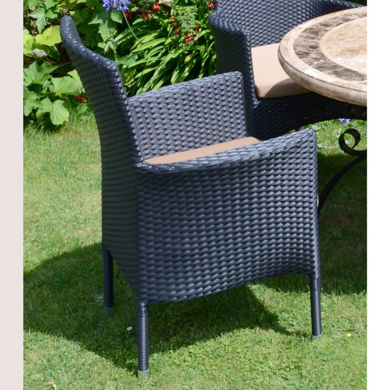 STOCKHOLM CHAIR BLACK OUTDOOR