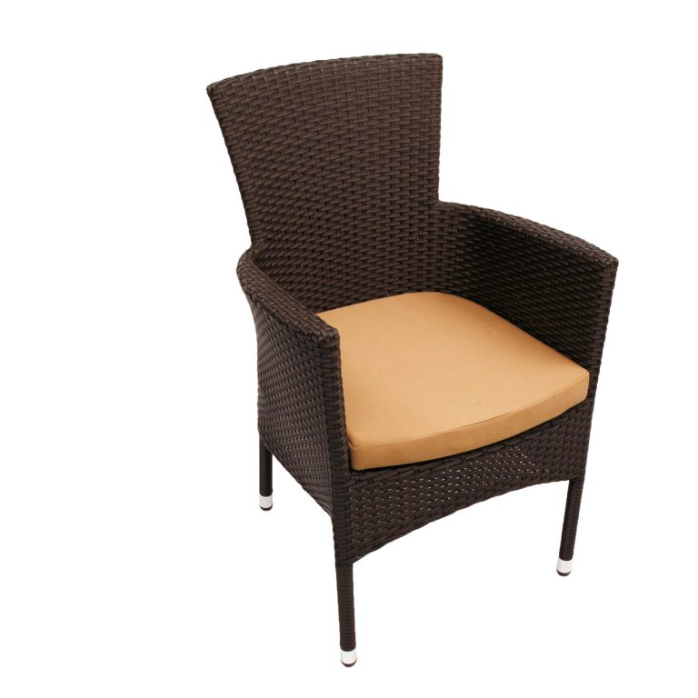 STOCKHOLM CHAIR BROWN FRONT RIGHT