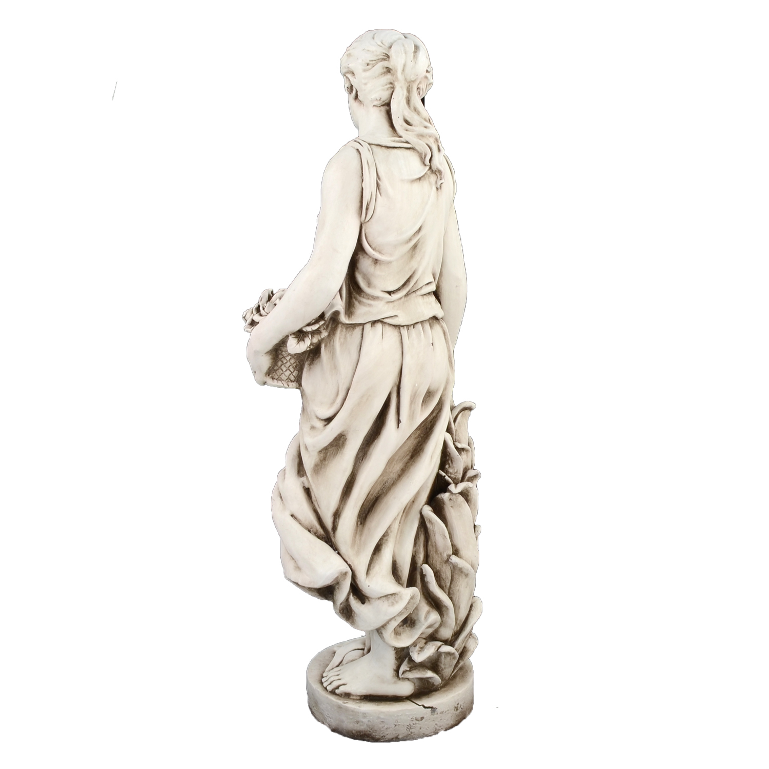 SUSIE IN SPRING 119CM ANTIQUE STONE EFFECT BACK LEFT