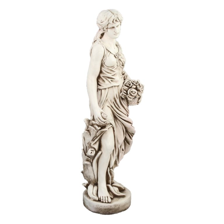 SUSIE IN SPRING 119CM ANTIQUE STONE EFFECT FRONT RIGHT