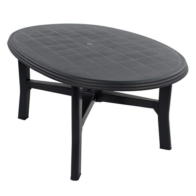 TERAMO 6 TABLE ANTHRACITE