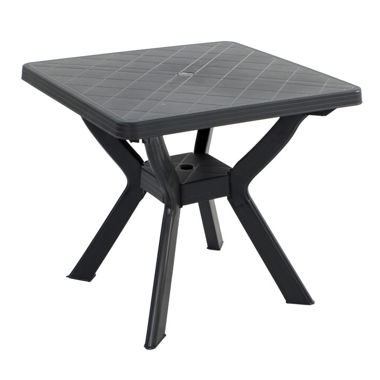 TURIN TABLE ANTHRACITE