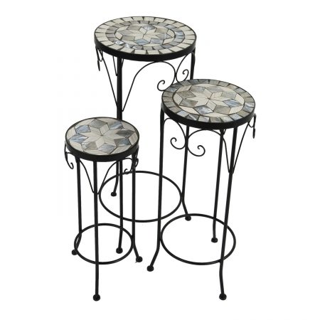 VERDE PLANTSTAND SET OF 3 TALL 1