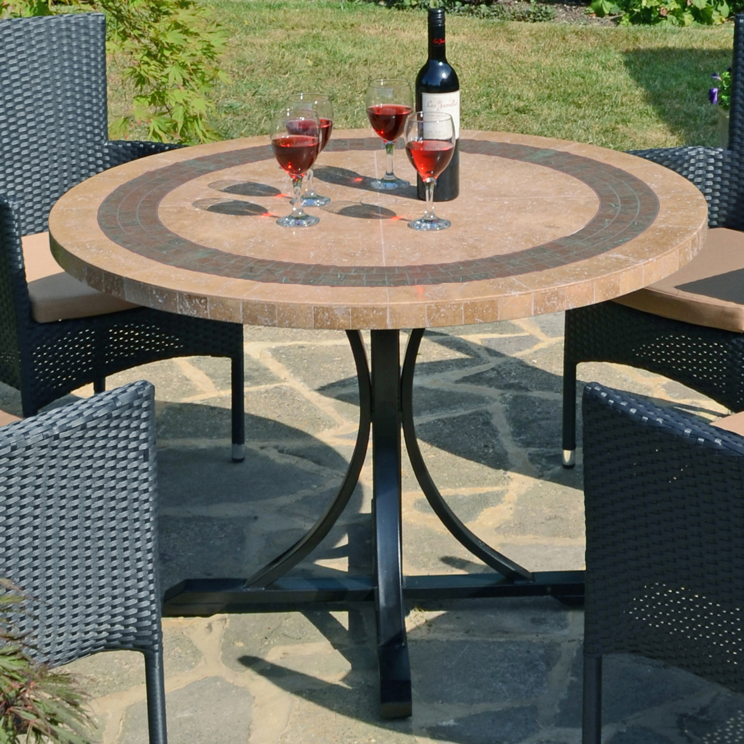 VERMONT 110CM DINING TABLE OUTDOOR