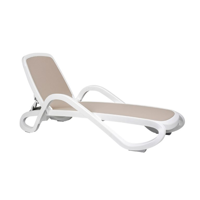 ALFA LOUNGER WHITE TURTLE DOVE PROFILE WS1