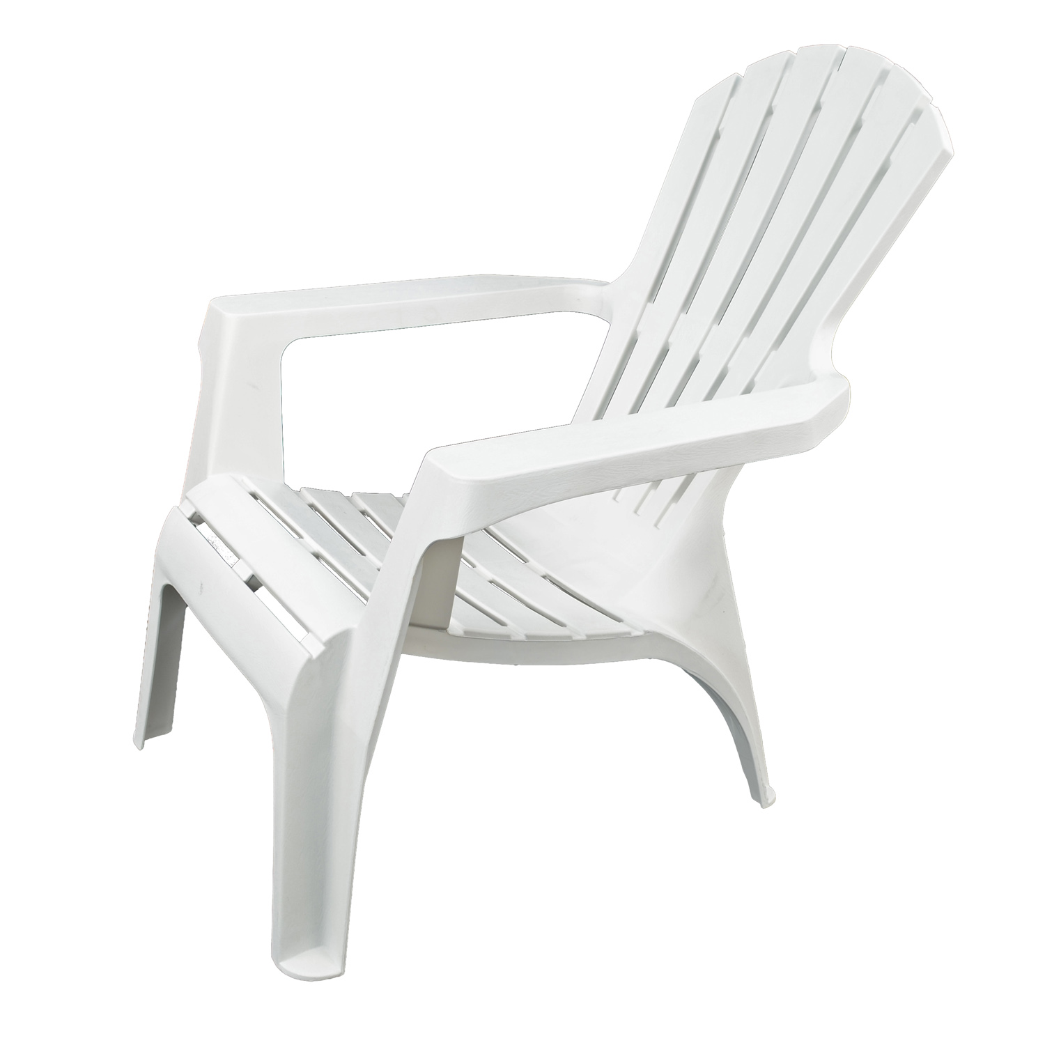 ANDRIA RELAX CHAIR WHITE PROFILE WS1