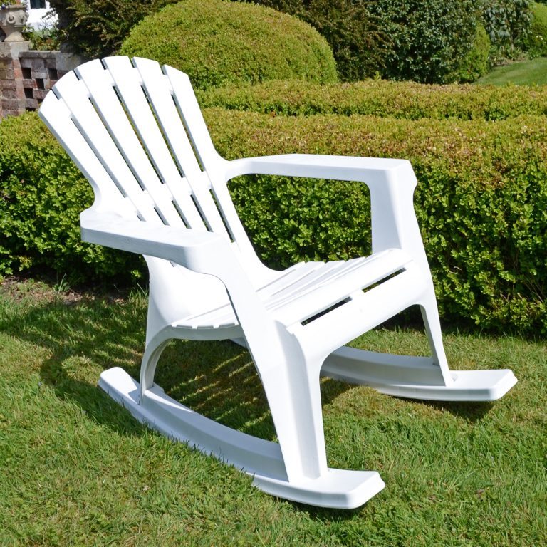 ANDRIA ROCKING CHAIR WHITE LG1