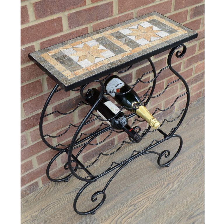 BRAVA WINE RACK TABLE LS2