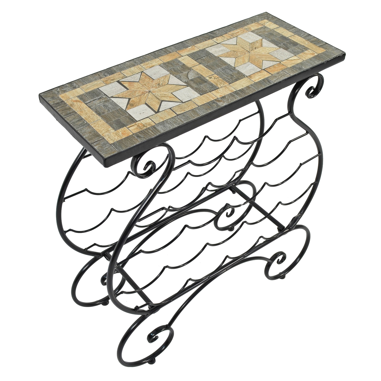 BRAVA WINE RACK TABLE PROFILE WS3