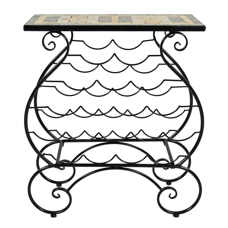 BRAVA WINE RACK TABLE PROFILE WS7
