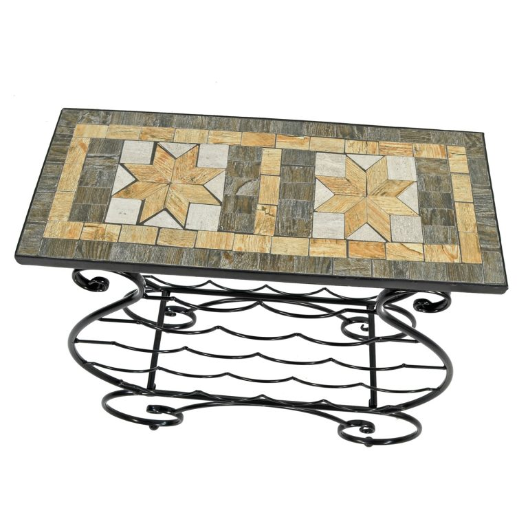 BRAVA WINE RACK TABLE PROFILE WS8