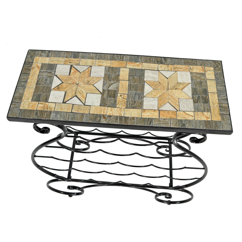 BRAVA WINE RACK TABLE PROFILE WS8