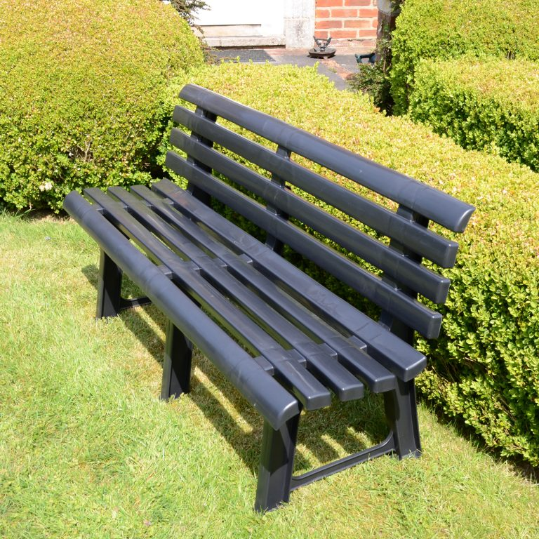 BRINDISI BENCH ANTHRACITE LS1