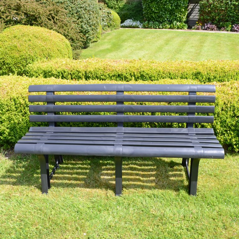 BRINDISI BENCH ANTHRACITE LS2