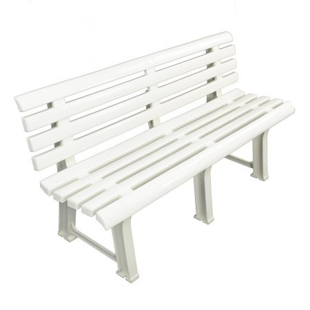 BRINDISI BENCH WHITE PROFILE WS1