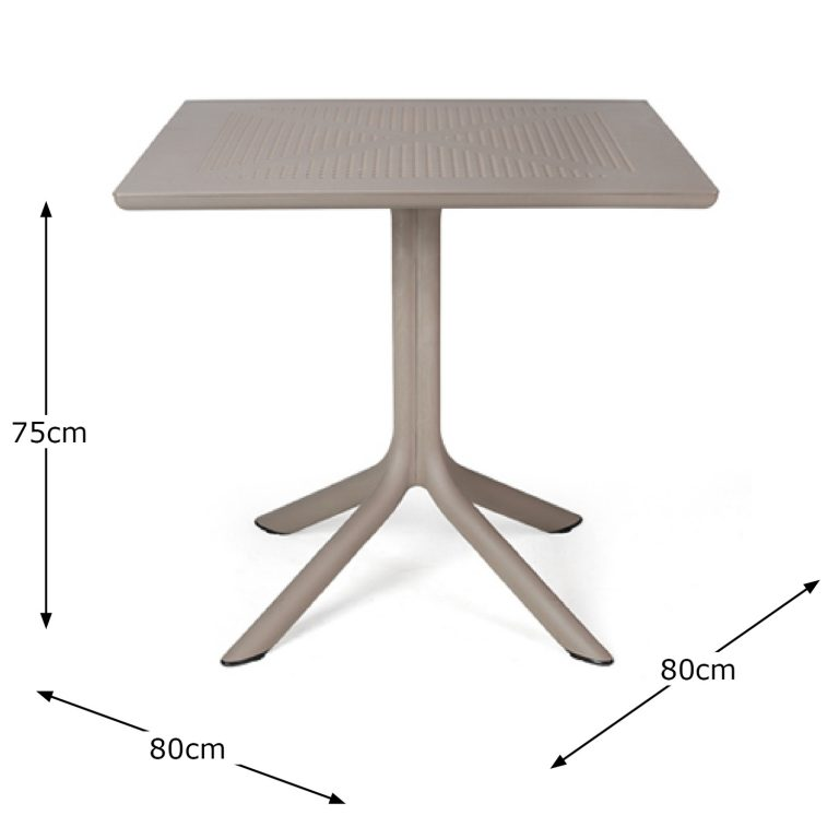 CLIP TABLE TURTLE DOVE DIMENSION MS1