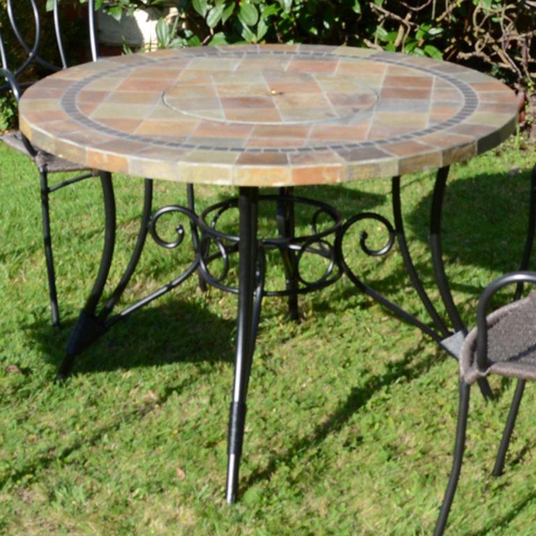 COLORADO 107CM FIRE PIT TABLE PROFILE LS4