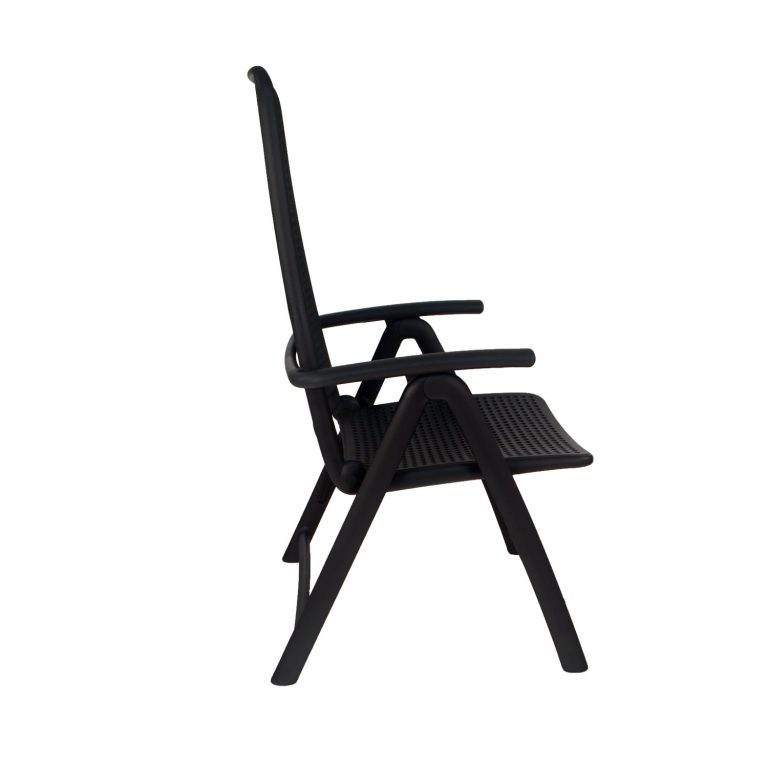 DARSENA CHAIR ANTHRACITE PROFILE WS6
