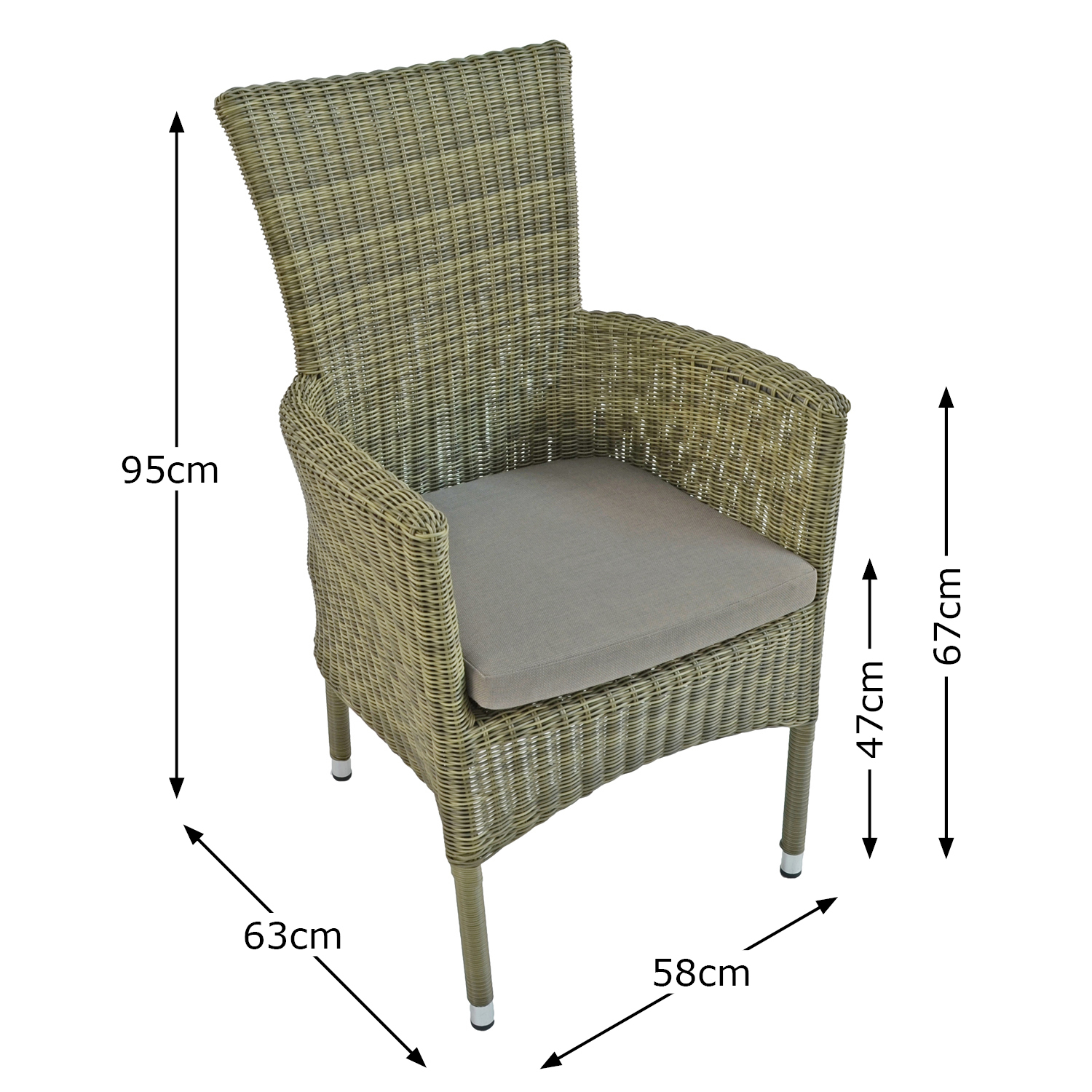 DORCHESTER CHAIR DIMENSION MS1
