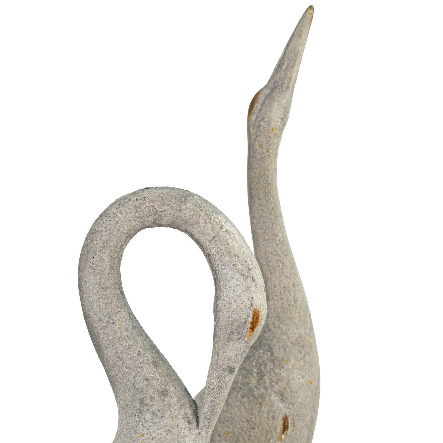 EGRET TALL 74CM WEATHERED STONE EFFECT DETAIL WS12