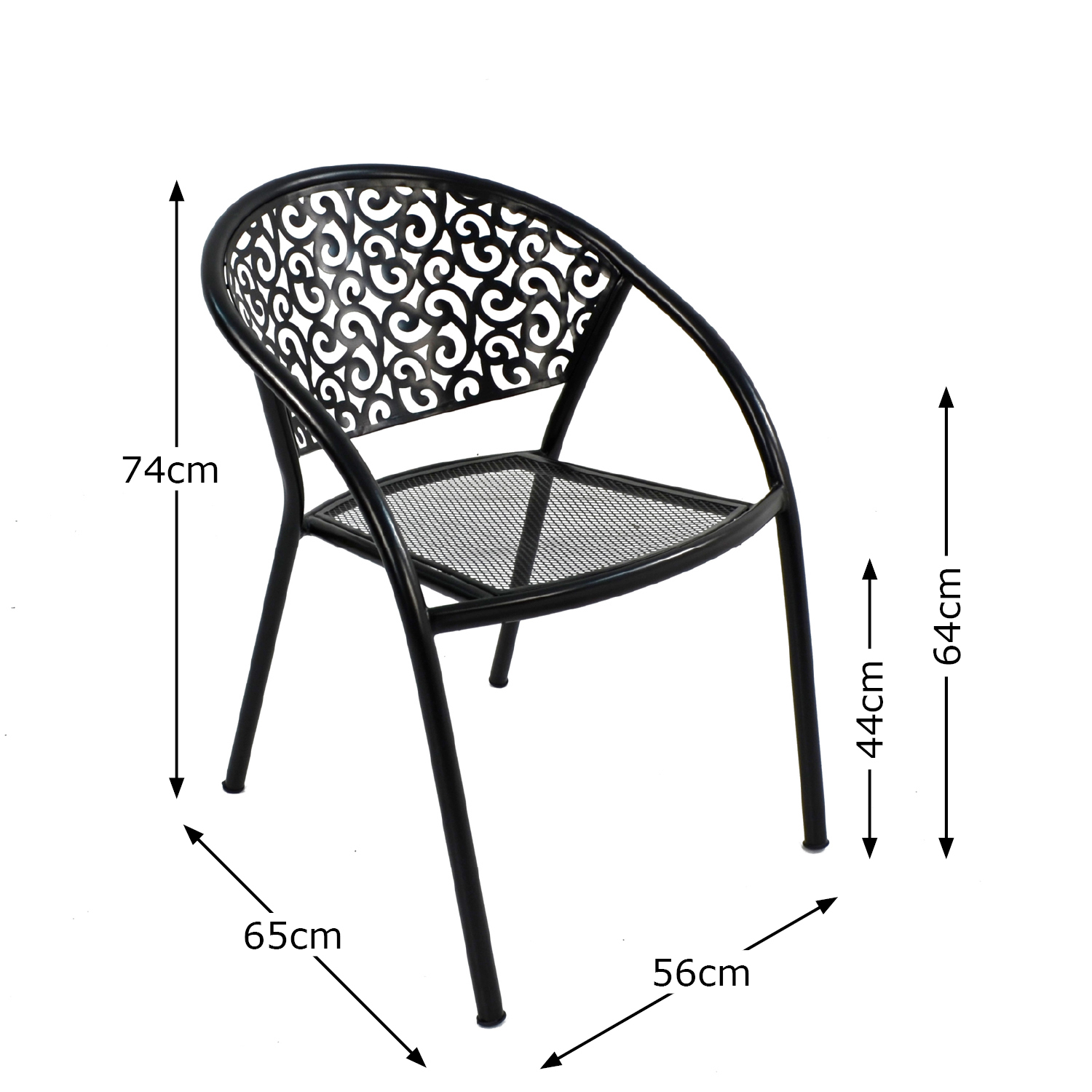FLORENCE CHAIR DIMENSION MS1