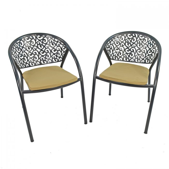 FLORENCE CHAIR WITH CUSHION PAKF OF 2 PROFILE WS1