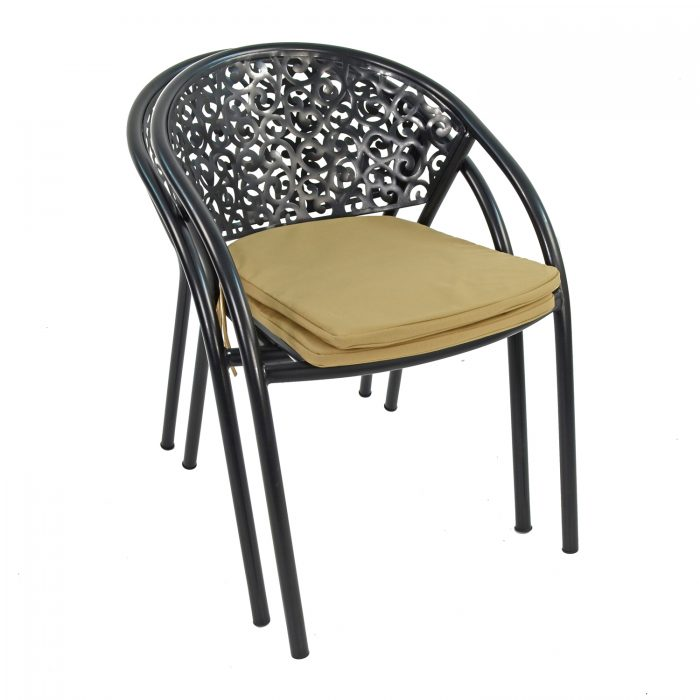 FLORENCE CHAIR WITH CUSHION PAKF OF 2 PROFILE WS2