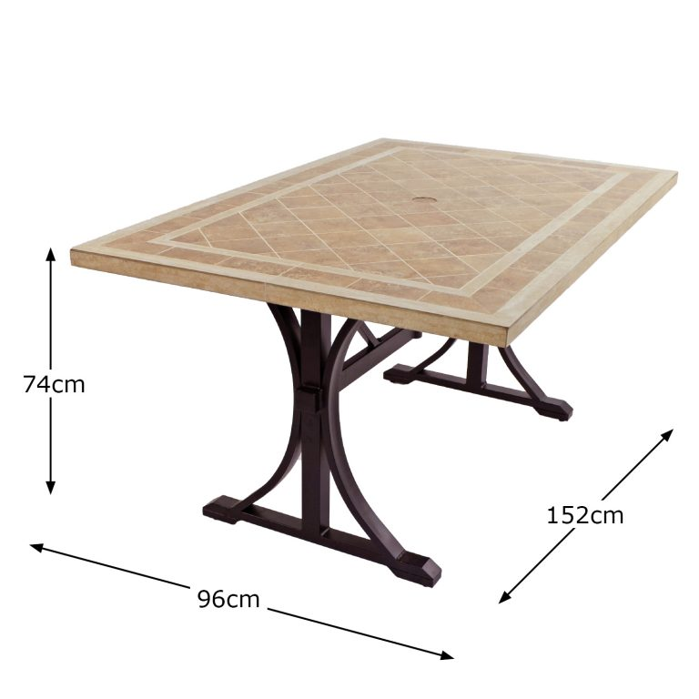 HAMPTON DINING TABLE DIMENSION MS1