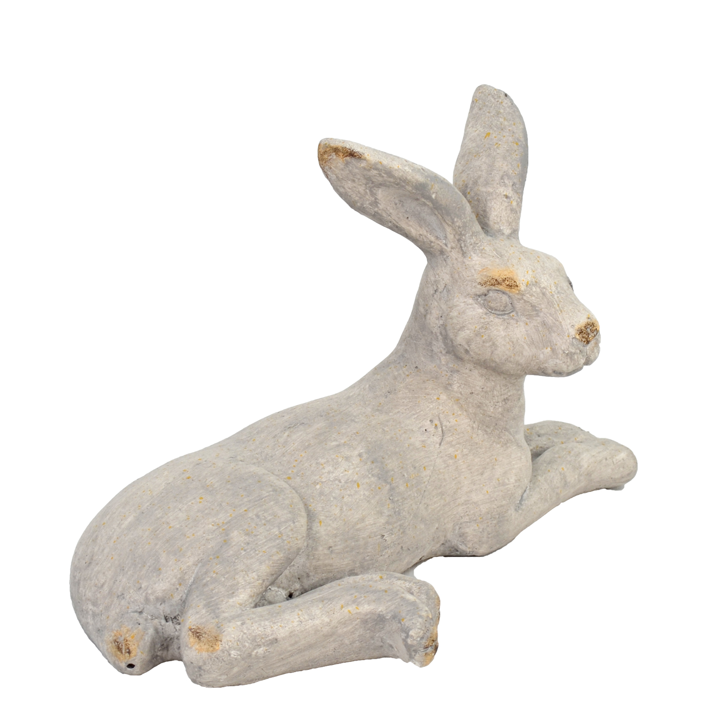 HARE LYING 24CM WEATHERED STONE EFFECT PROFILE WS5
