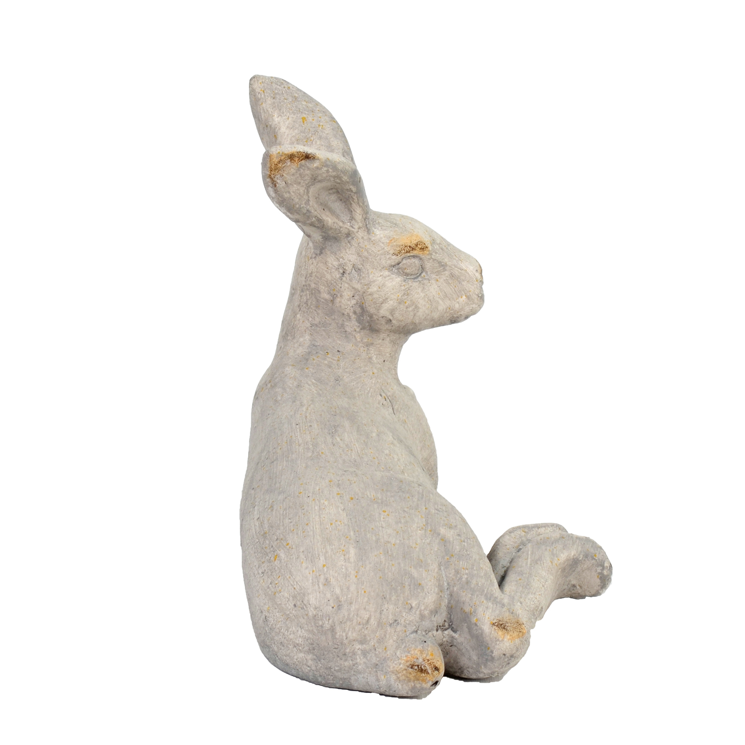 HARE LYING 24CM WEATHERED STONE EFFECT PROFILE WS8