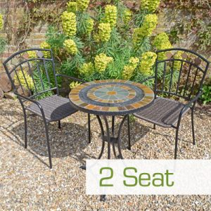 Bistro Garden Furniture sets from Green Fern Garden Furniture