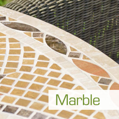 Travertine Marble Garden Furniture