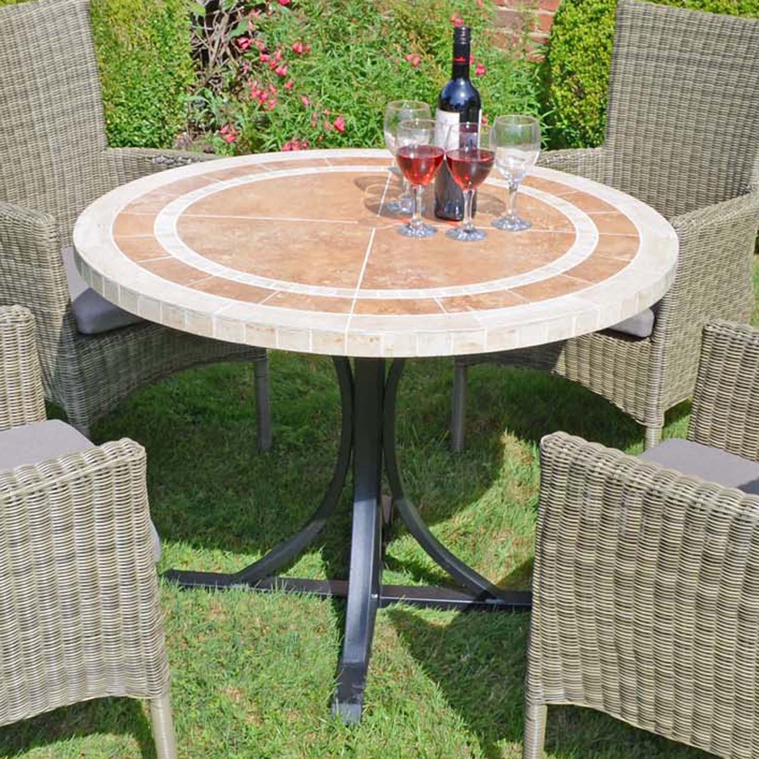 LANGLEY 100CM DINING TABLE PROFILE LS2