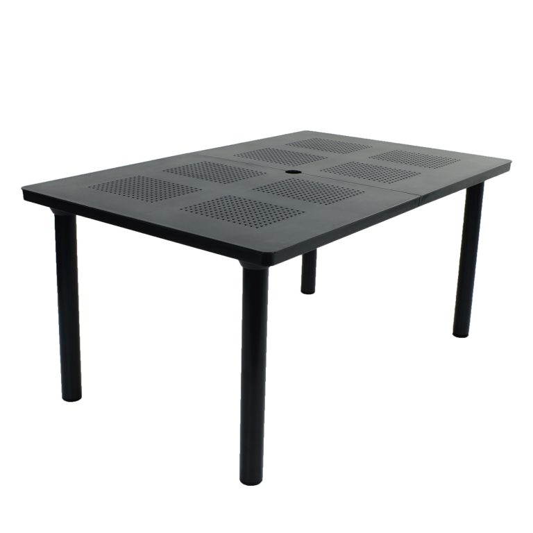 LIBECCIO TABLE ANTHRACITE PROFILE WS2