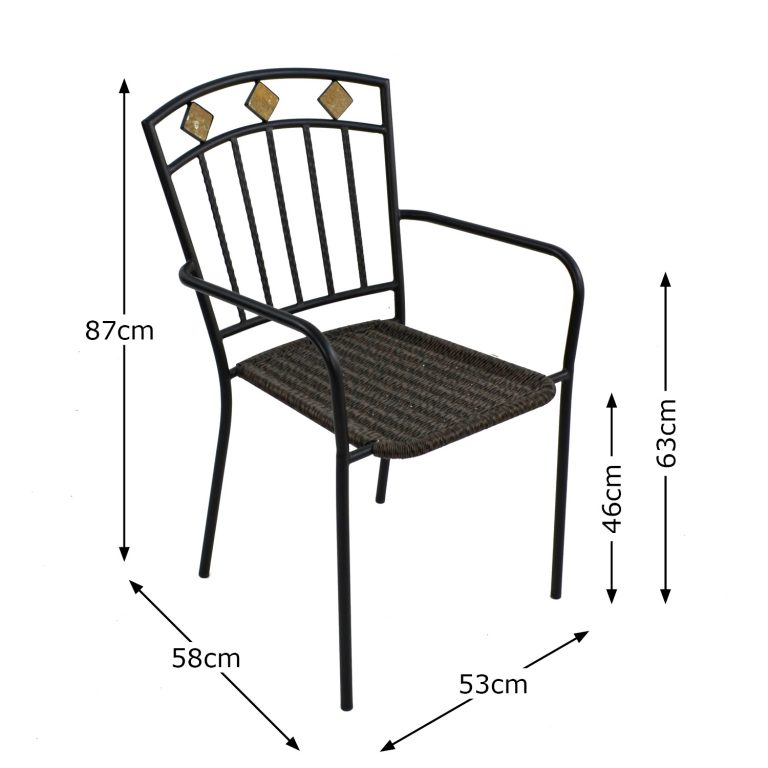 MALAGA CHAIR DIMENSION MS1