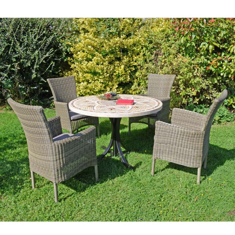 MONTPELLIER DINING TABLE WITH 4 DORCHESTER CHAIRS SET LG2