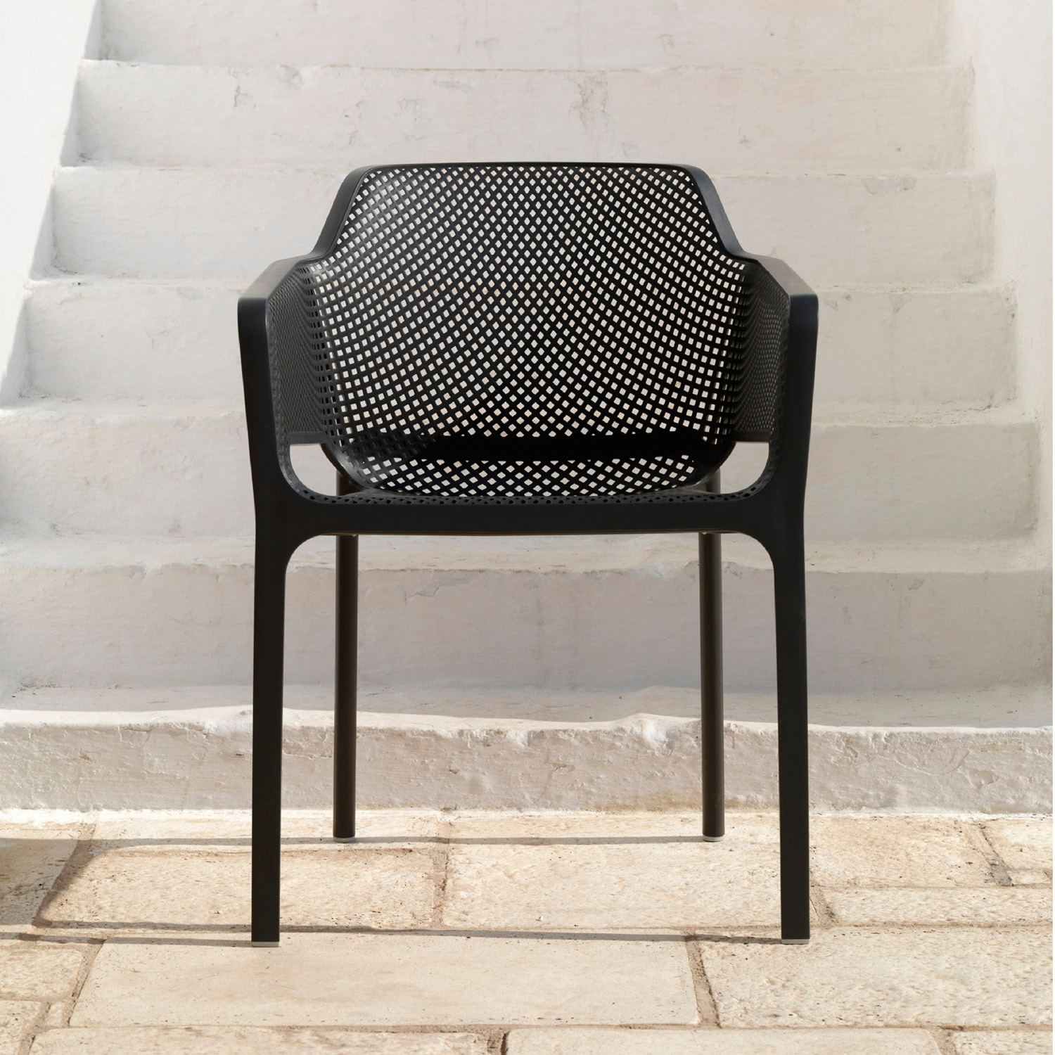 NET CHAIR ANTHRACITE LS1