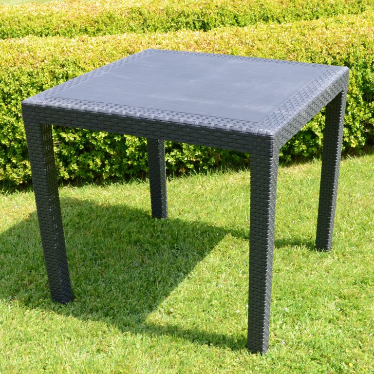 SALERNO SQUARE TABLE ANTHRACITE LS1