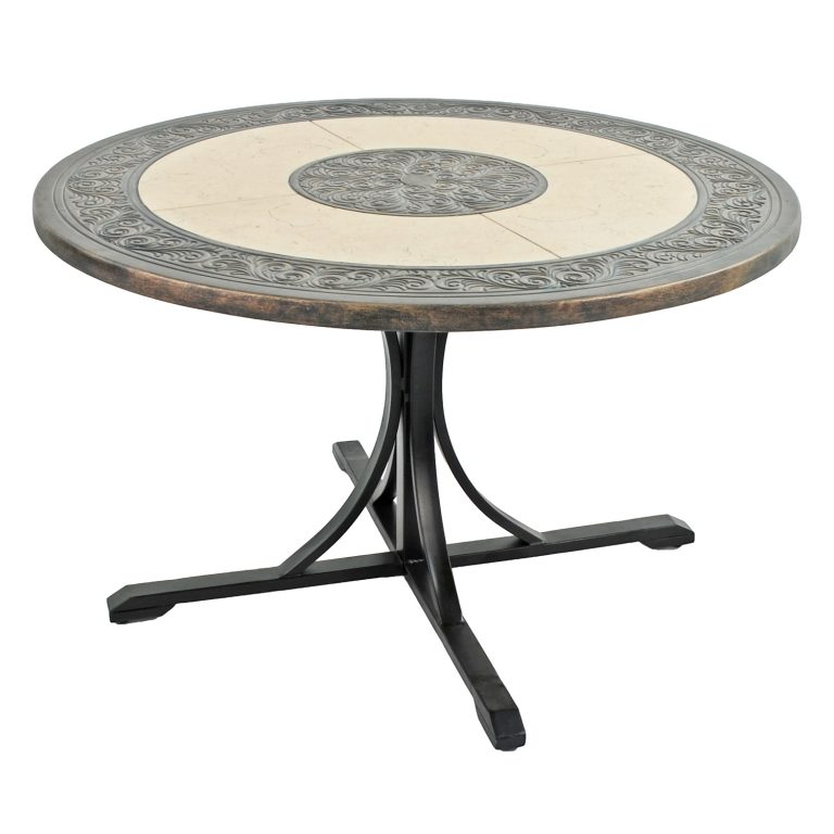 ST MALO 122CM DINING TABLE PROFILE WS1