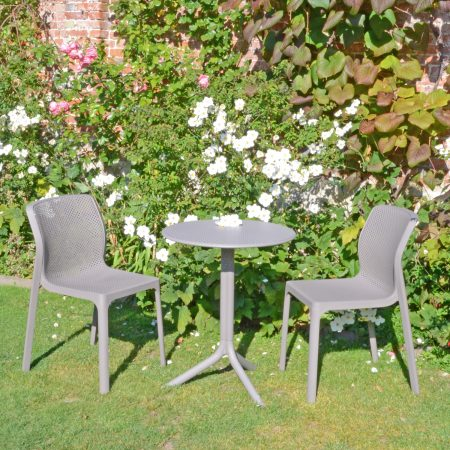 STEP TABLE WITH 2 BIT CHAIR SET TURTLE DOVE LG1