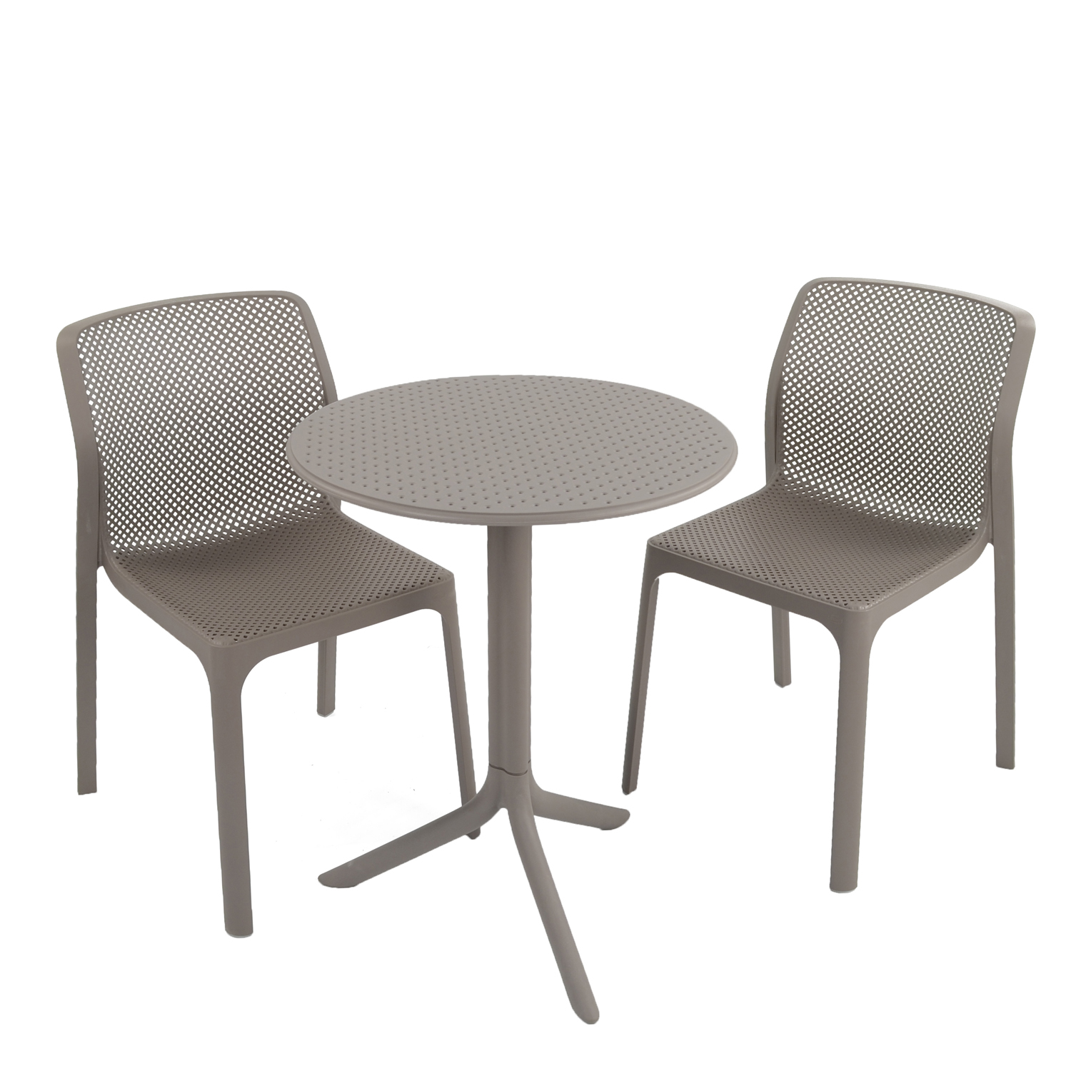 STEP TABLE WITH 2 BIT CHAIR SET TURTLE DOVE WG1