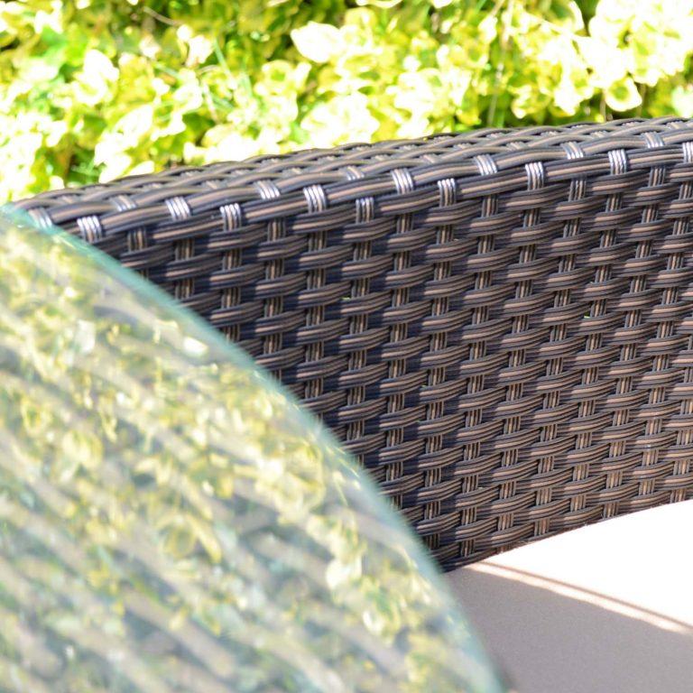 STOCKHOLM 4 SEAT SET BROWN SET LS4