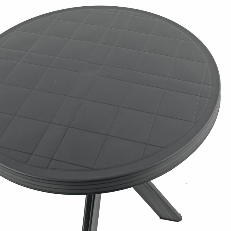 TIVOLI BISTRO TABLE ANTHRACITE DETAIL WS2