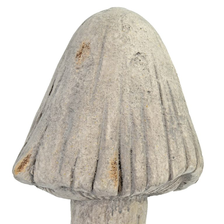 TOADSTOOL TALL 48CM WEATHERED STONE EFFECT DETAIL WS6